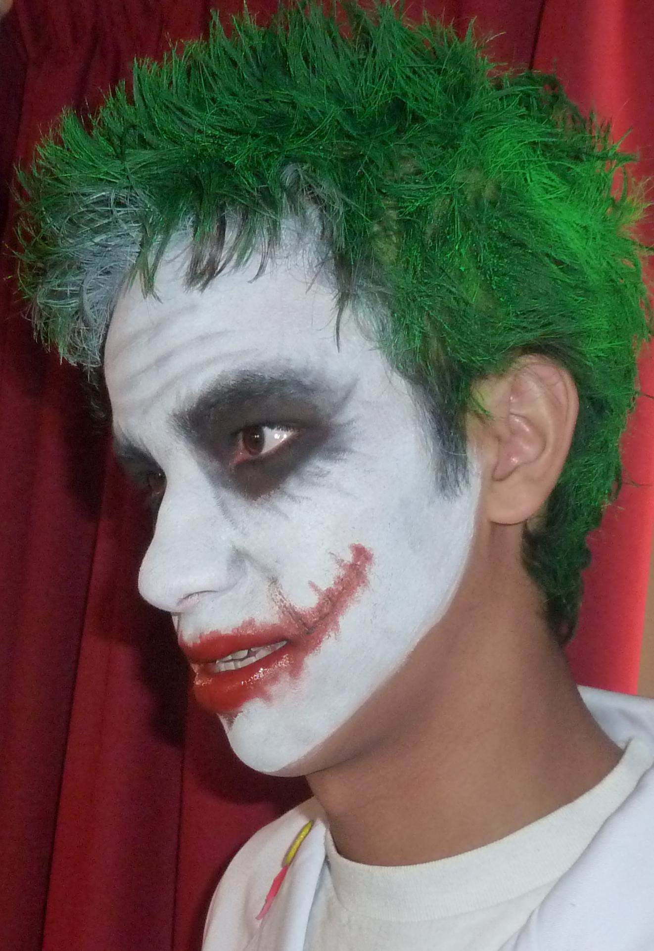 Joker From Batman Nicole Smith Makeup